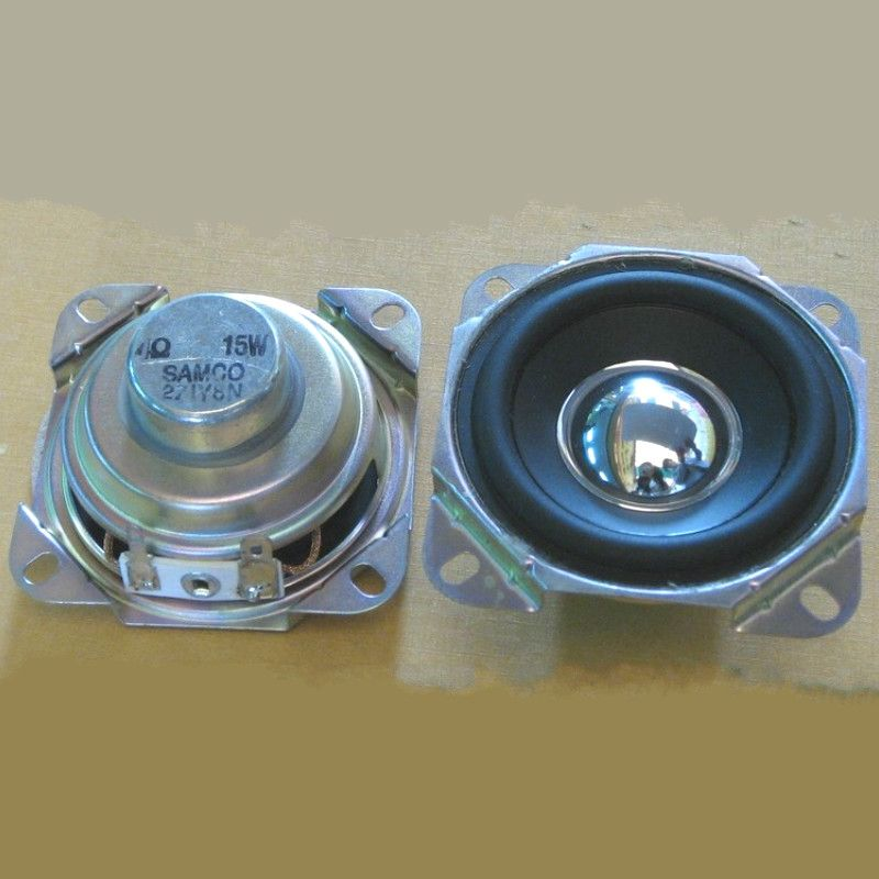 2Pcs Audio Speakers 2.75Inch 4 Ohm 15W Uplifting Angle Strong ...