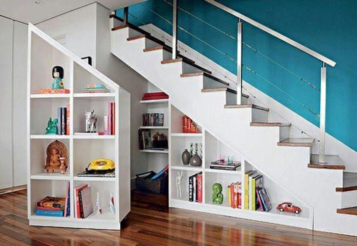 Regal Unter Treppe schrank unter die treppe stellen eine tolle idee schränkchen