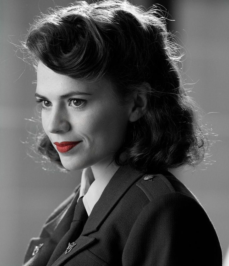 Peggy Carter Captain America Hairstyle