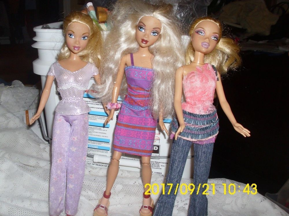 mattel barbie my scene dolls barbie kennedy barbie nice clothes shoes great hair