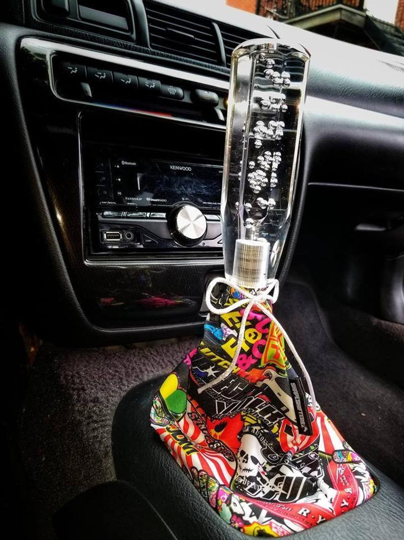 Jdm Sticker Bomb Shift Boot Handbrake Ebrake Shifter Gear Cover Handmade Universal Fit In 2021 Jdm Stickers Shift Boot Cute Car Accessories [ 1059 x 794 Pixel ]