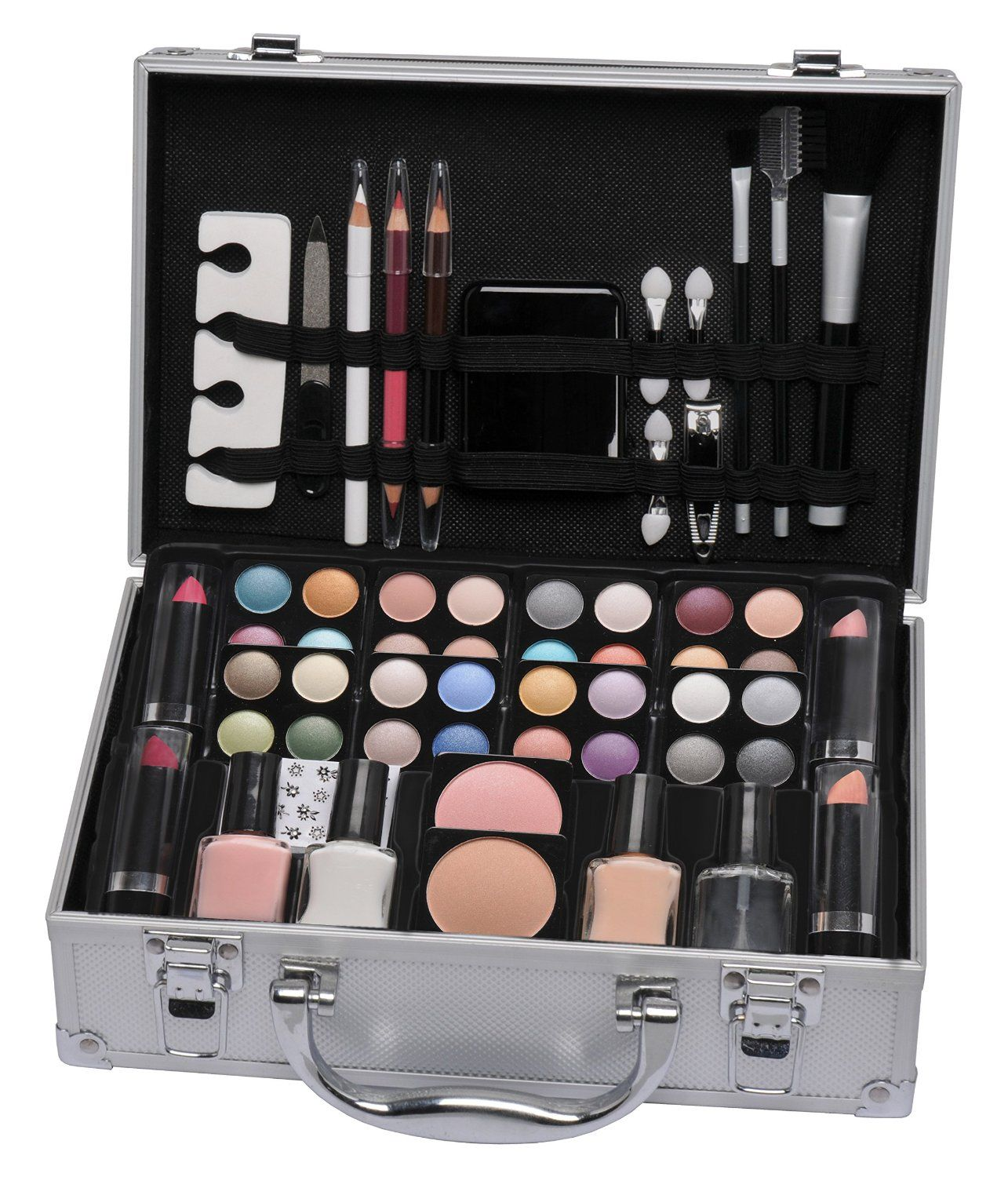 Vanity Case Beauty Cosmetic Set Travel Make Up Box Train