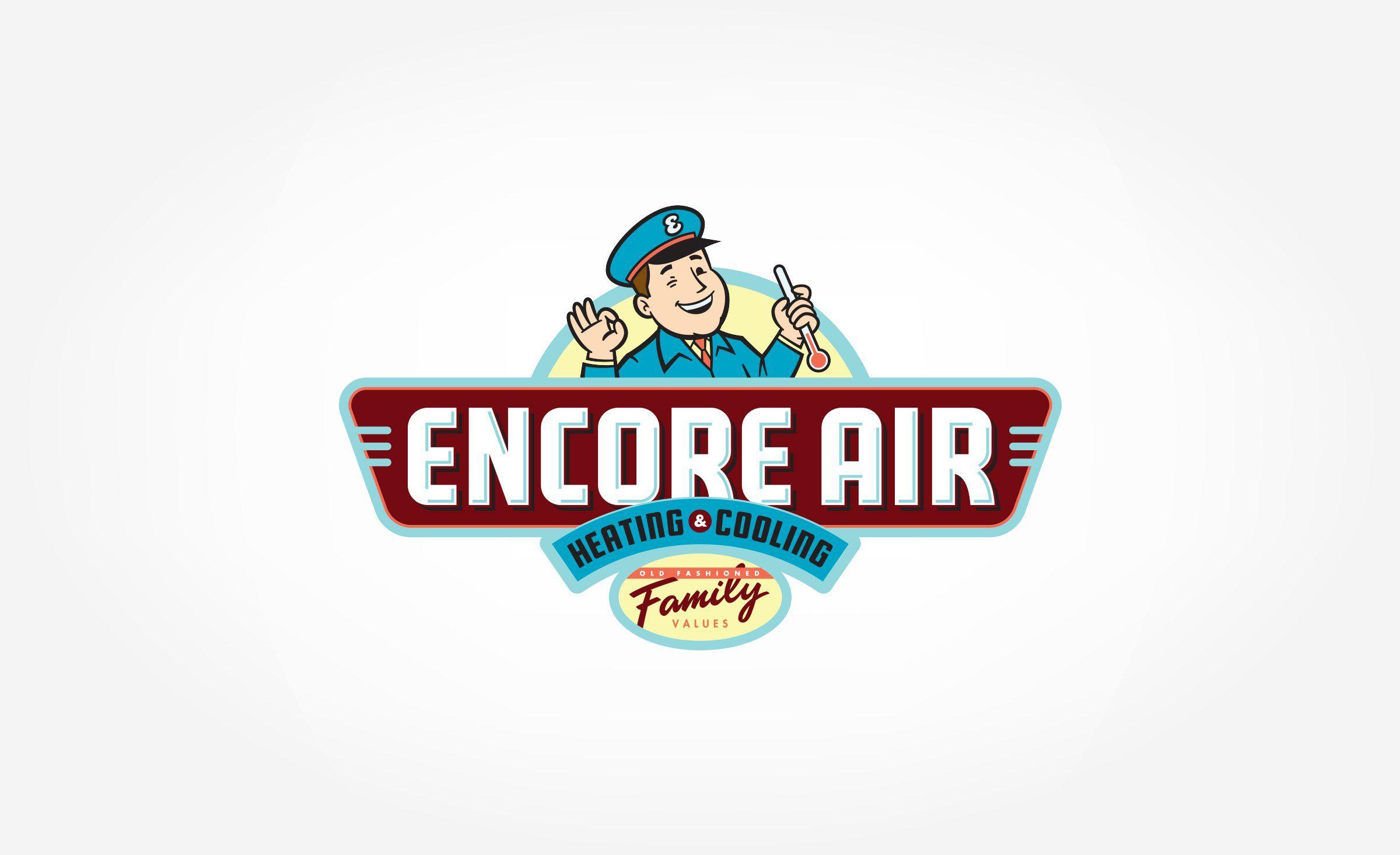 Encore Air Heating Cooling Kickcharge Creative Branding