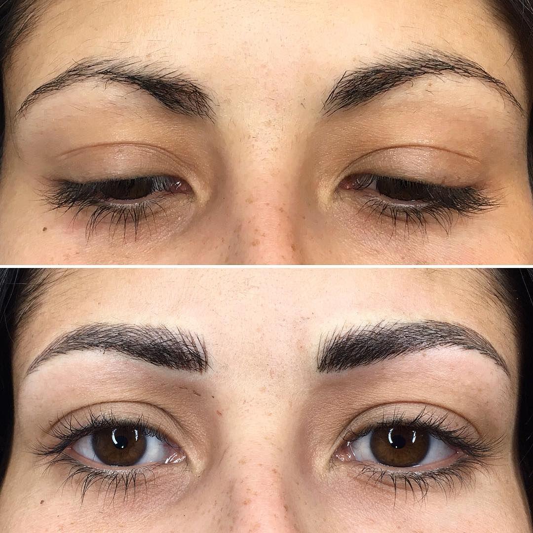 Cosmetic Tattoo Microblading Semipermanent makeup