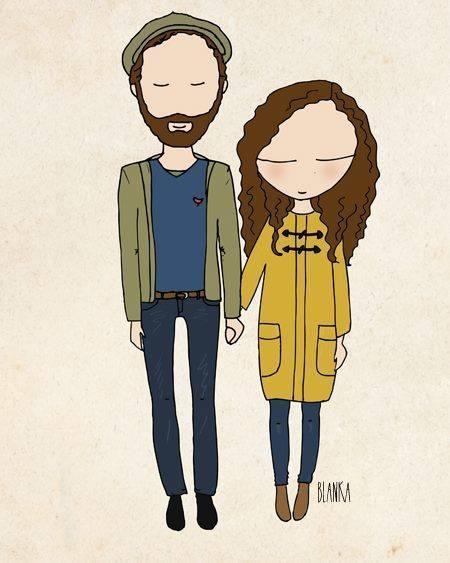 Couples illustration image 3