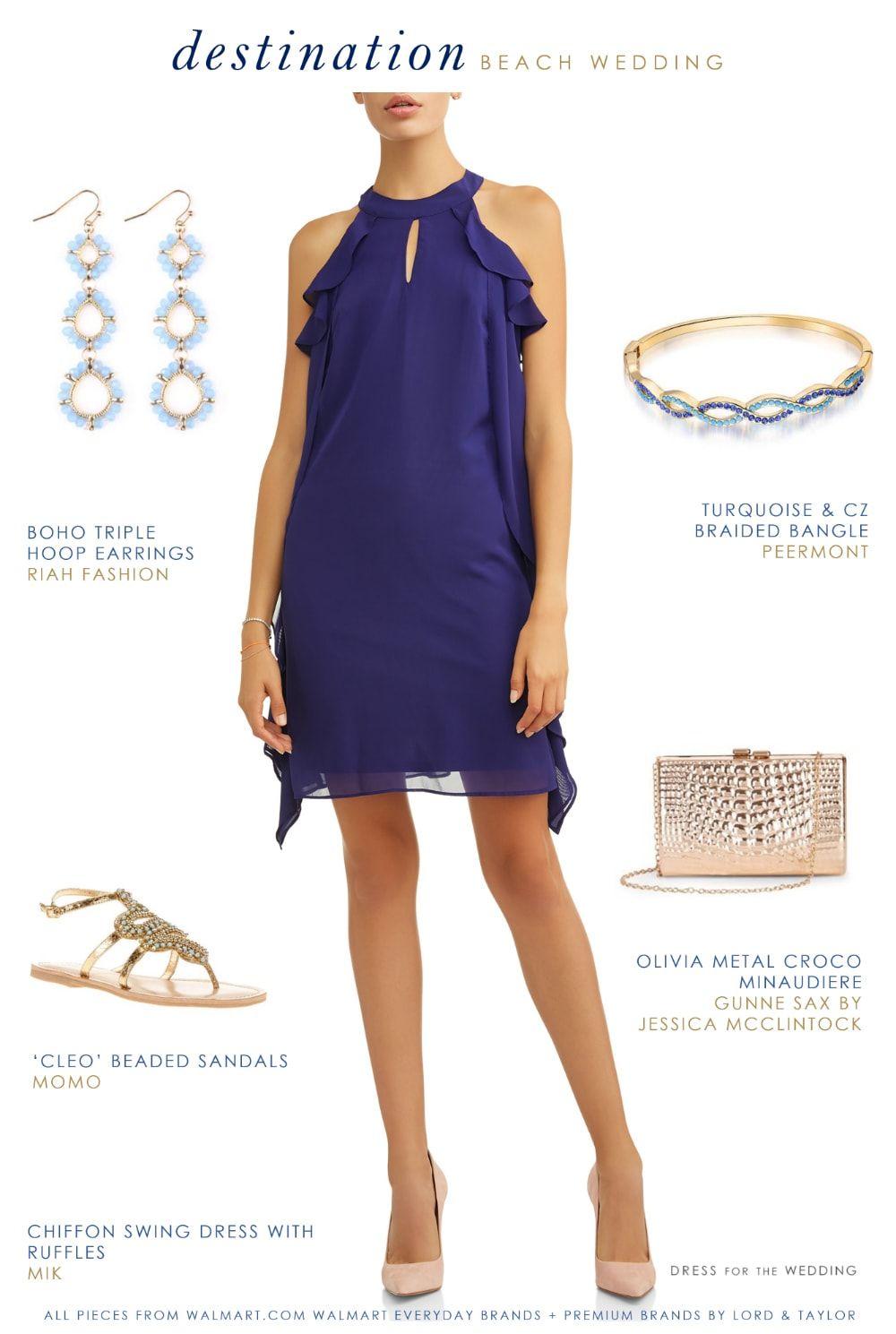 16272182704 Outfit idea for a casual destination ior beach wedding  beachwedding   weddingguest  outfitideas