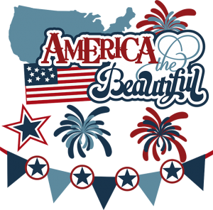 America The Beautiful Svg 4th Of July Svg Files For Scrapbooking Fireworks Svg Files Cards Fireworks Svg 4th Of July