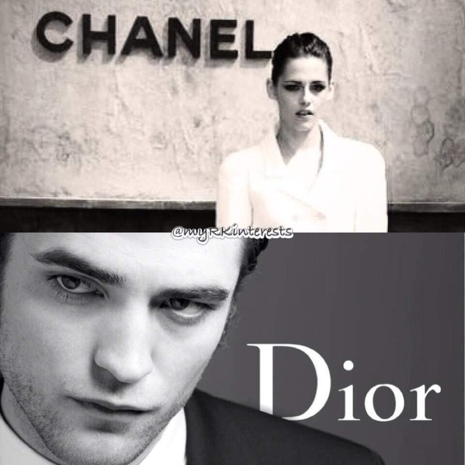 Robert Pattinson & Kristen Stewart - this has to happen - ChanelStew & DiorRob edit! <3