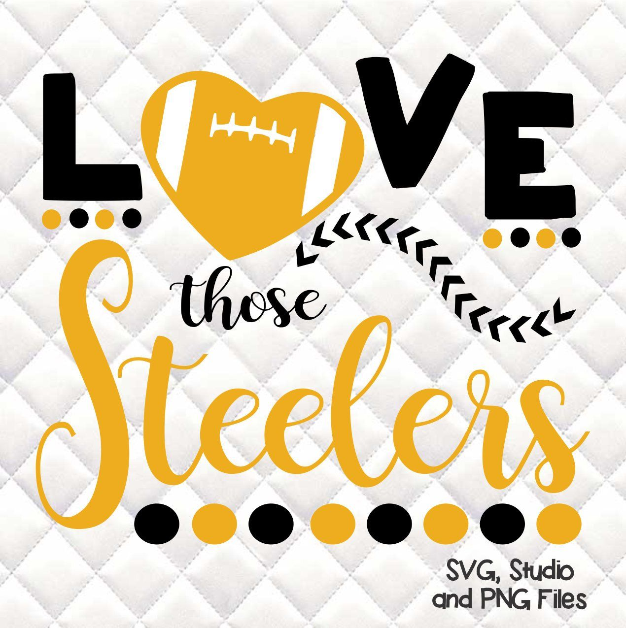 Love those Steelers Tailgating, Gameday SVG