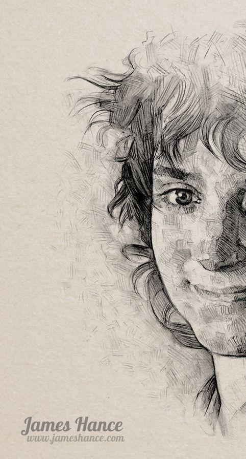 My Dear Frodo… by James Hance