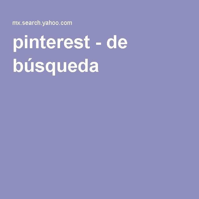 pinterest - de búsqueda