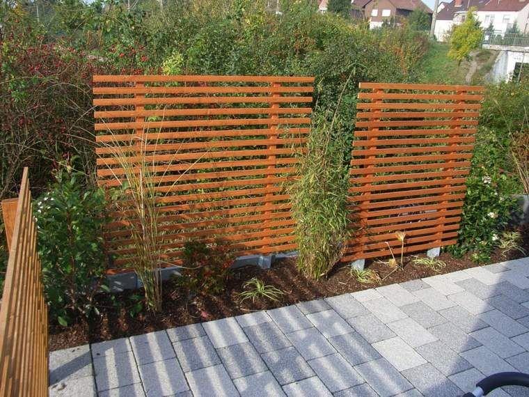 Clôtures De Jardin En 59 Idées Captivantes | Fences, Backyard