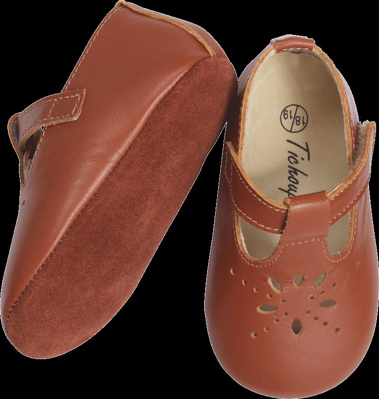 revendeur 89a37 e092d Chaussures bébé cuir souple salomé camel - Tichoups | Hector ...