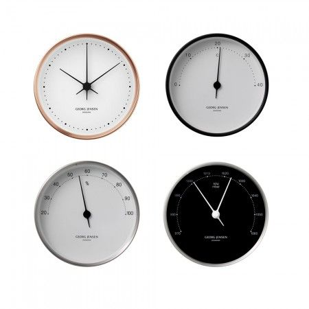 Clock and weather station. Henning Koppel design by Georg