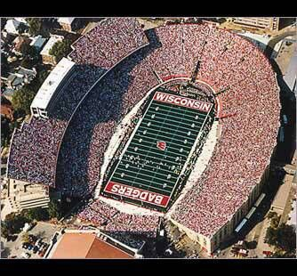 Madison Wisconsin Camp Randall Wisconsin Badgers
