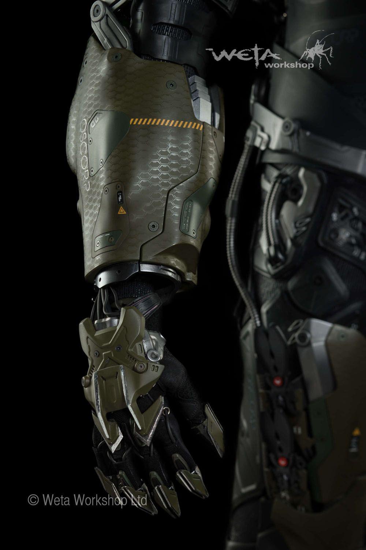 Pumpkin Bomb Launcher Mech Robots Armor Concept Sci