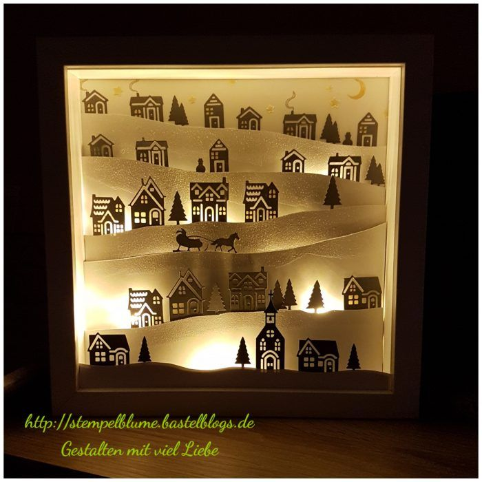 winterlicher ribba rahmen weihnachten daheim winterst dtchen pinterest weihnachten. Black Bedroom Furniture Sets. Home Design Ideas