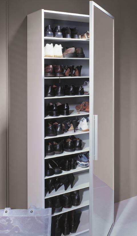 Schuhschrank Spiegeltur For Me Schmaler Schuhschrank Garderobe