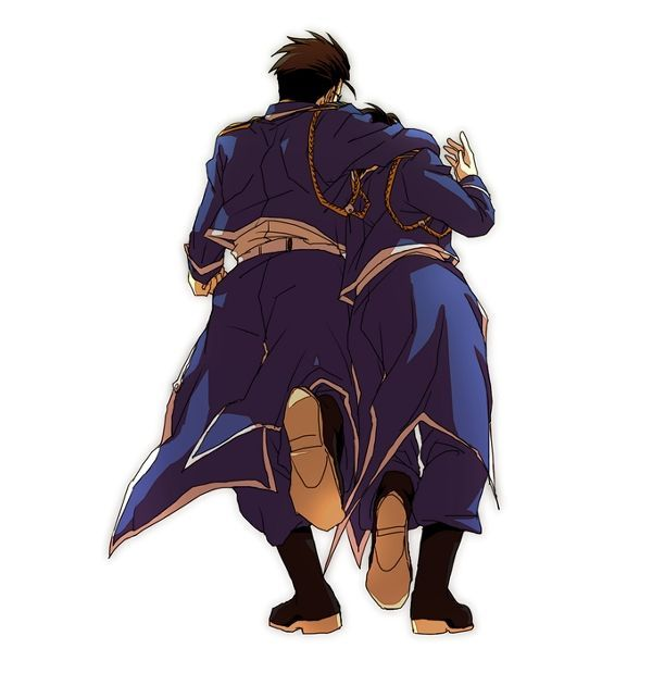 fullmetal alchemist roy mustang maes hughes