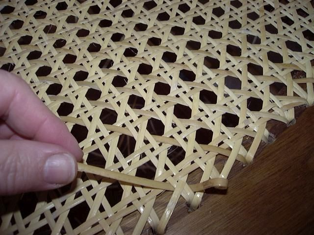 How To Identify Woven Chair Seat Patterns Woven Chair Caning Woven Furniture