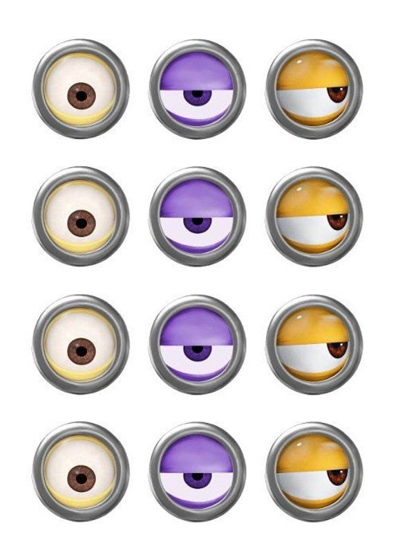 photo about Printable Minions Eyes referred to as MINION - Minion Video clip - Minion Eyes - Instantaneous Down load