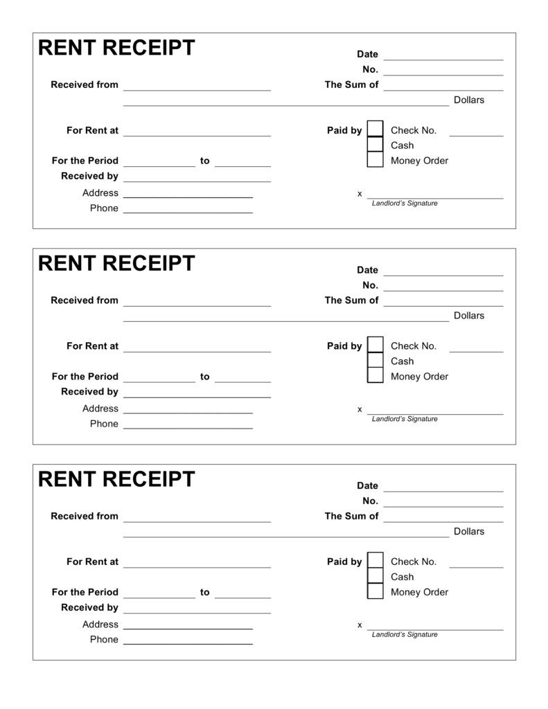 Free Printable Rent Receipt Template 3800 Invoice Template Word Invoice Template Receipt Template