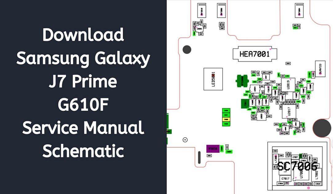 Samsung Galaxy J7 Prime G610f Service Manual