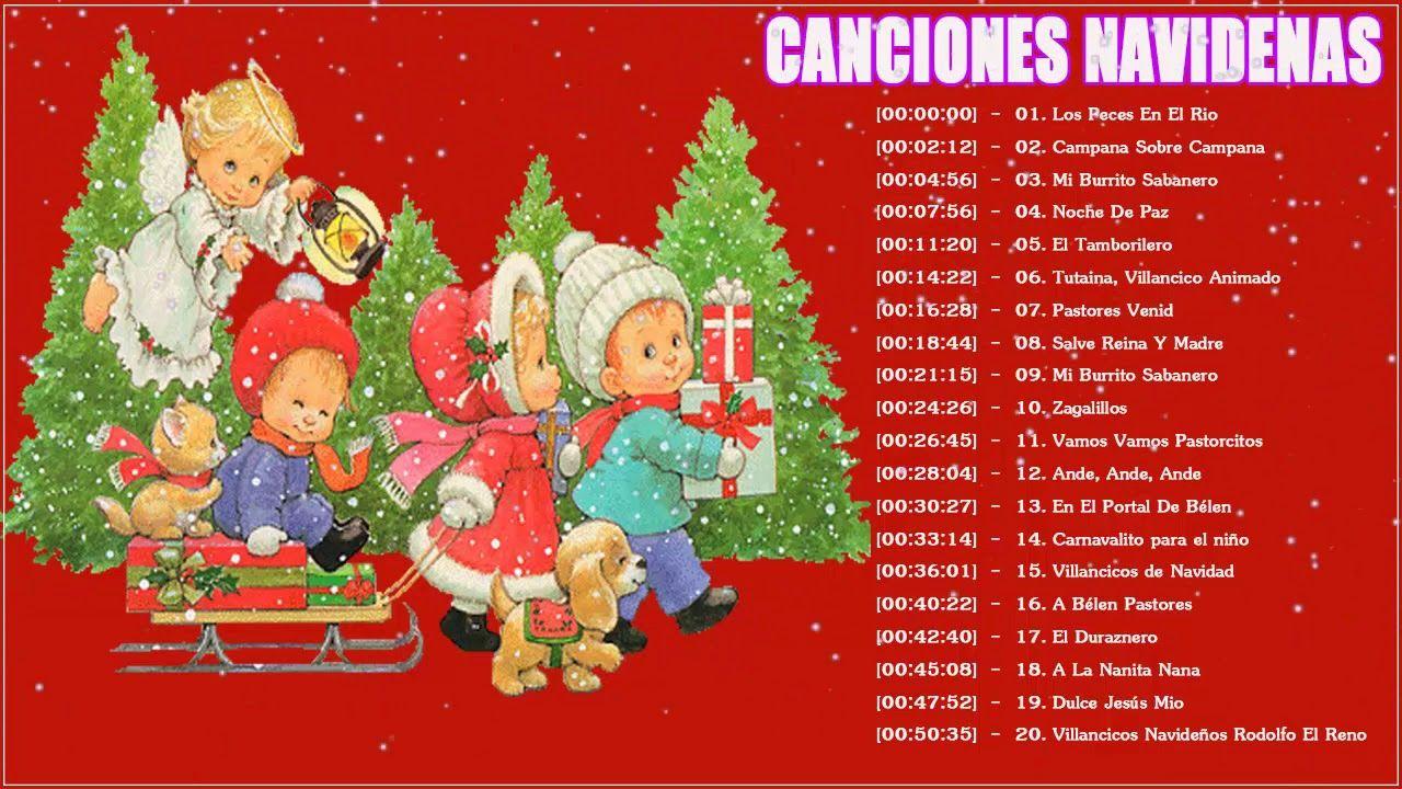 Escuchar Cancion Feliz Navidad.Canciones De Navidad En Espanol 2018 ღ 1 Hora De