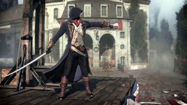 Assassin S Creed Unity Ps4 Vs Xbox One Video Comparison Xbox One