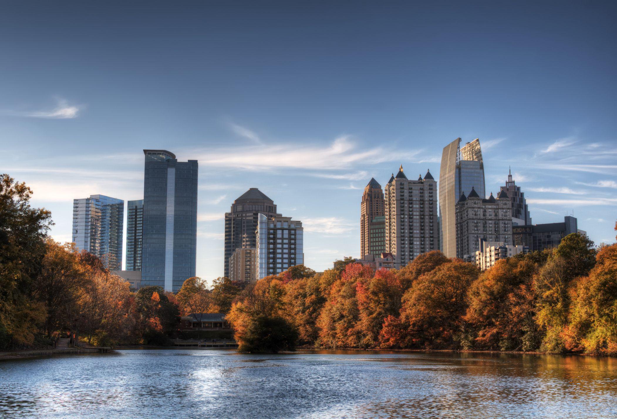 Atlanta, Atlanta skyline, Atlanta city, Skyline