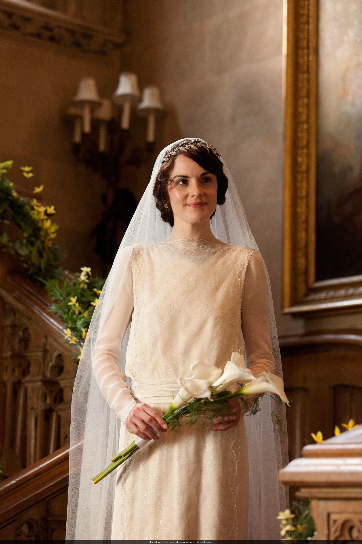 Mary And Matthew Crawley Wedding Downtown Abbey Season 3 Episode 1: Lady Mary Crawley Wedding Dress At Reisefeber.org