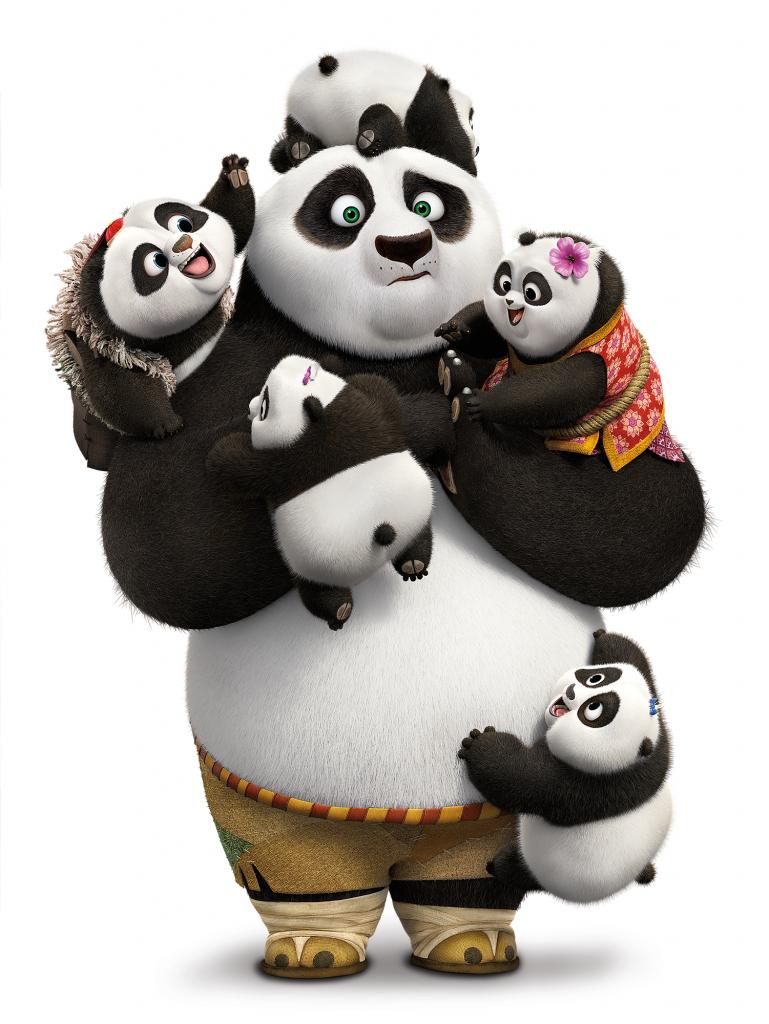 KUNG FU PANDA 3 Baby Pandas   Kung Fu Panda Printables ...