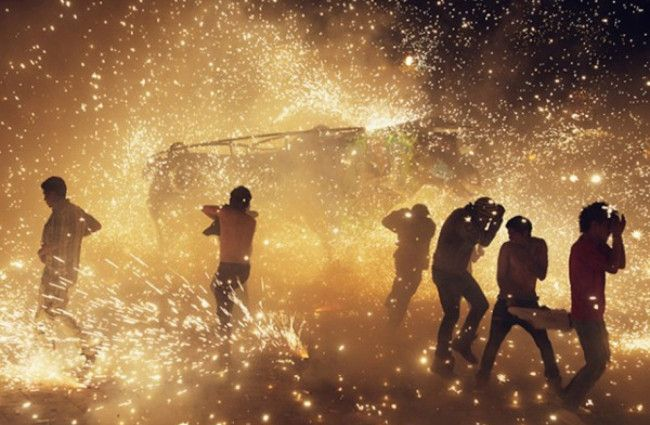 Pyrotechnic Festival in Mexico: photos by Thomas Prior
