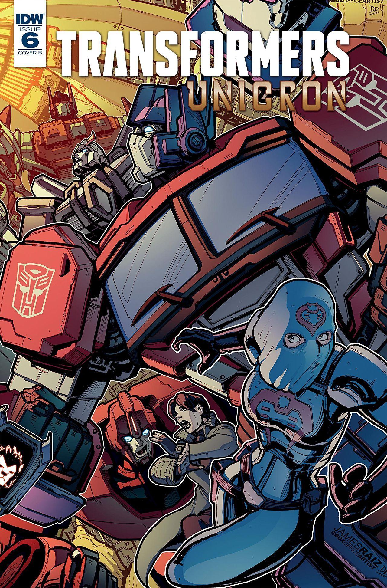 Transformers Prime Comic Book
