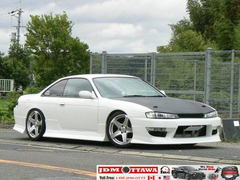 1996 nissan silvia s14 ks body kit used jdm rhd cars imported from japanese auctions. Black Bedroom Furniture Sets. Home Design Ideas