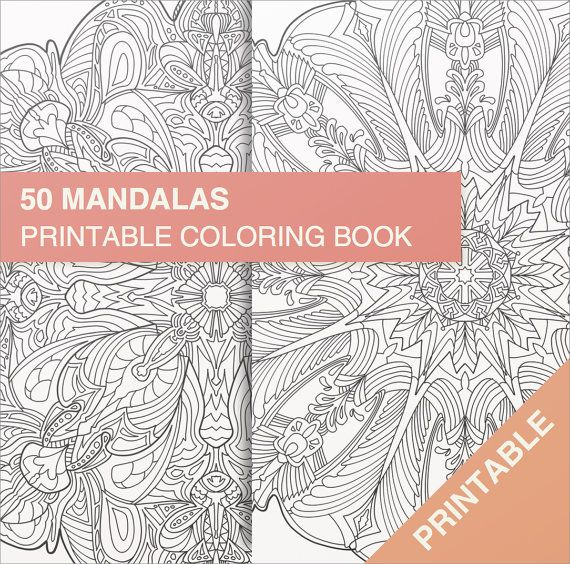 50 Printable Mandalas To Color For Adults