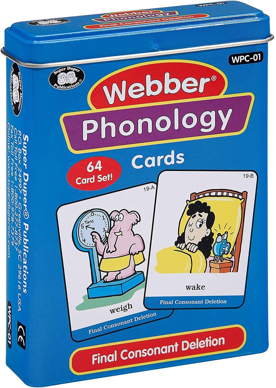 Super Duper Publications Webber Illustrated Phonology