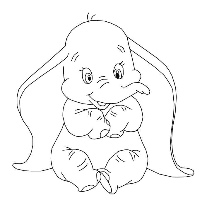 5 Printable Disney Dumbo Characters Coloring Pages | coloring_pages ...