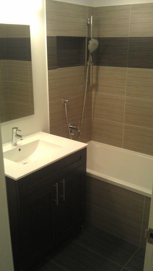 Condo Two Bathroom Remodel 100 E Huron St Chicago Il River North 123 Remodeling Condo Bathroom Bathrooms Remodel Tile Design