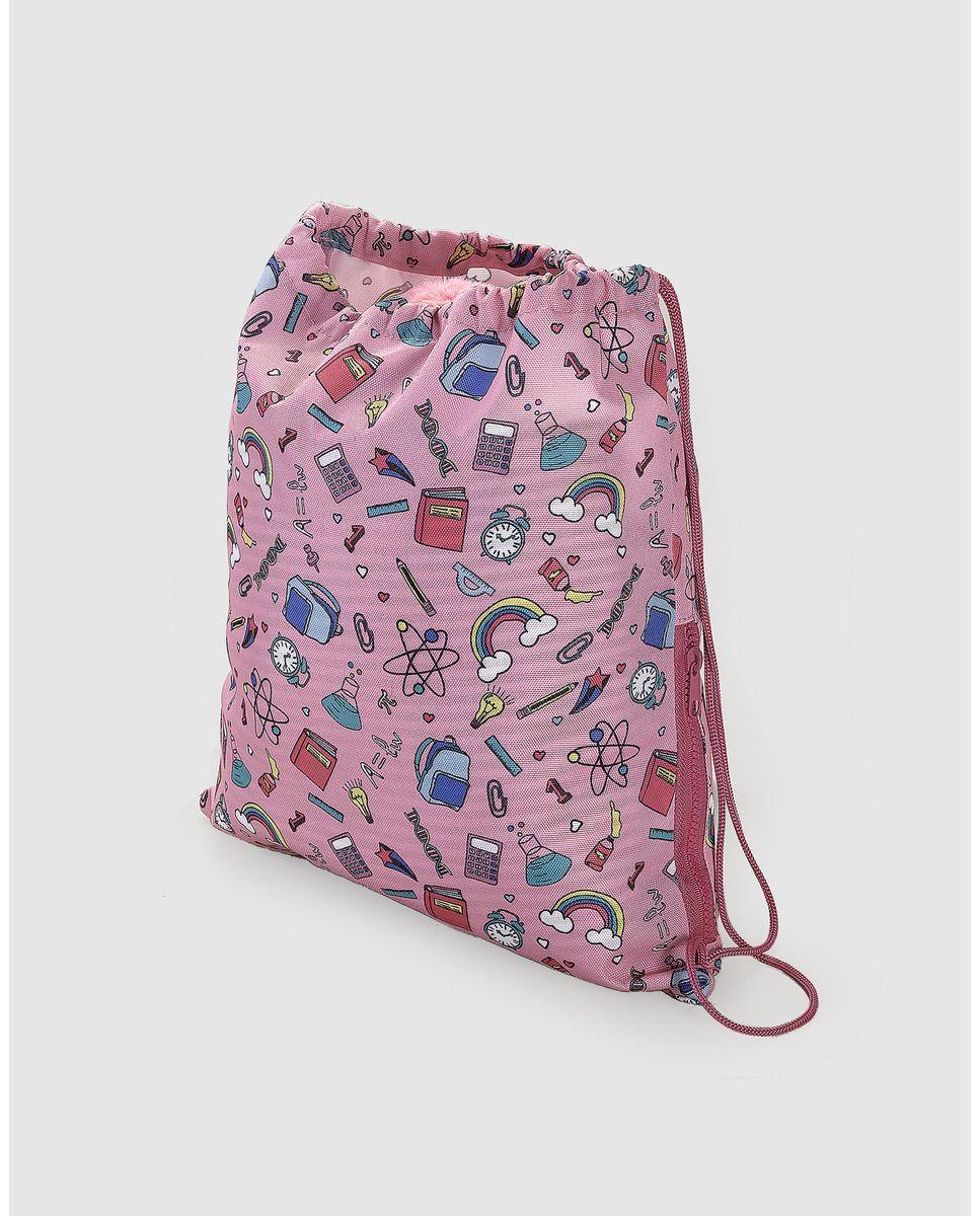 Gym bag de niña Accesorios Collection estampada  898cb775bbb