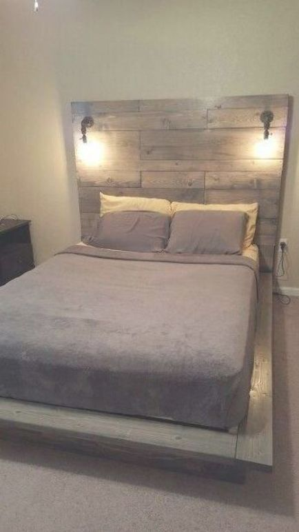 How To Build A Beautiful Diy Bed Frame Wood Headboard Easily Free Diy Bed Plan Variations O Floating Bed Frame Queen Bed Frame Diy King Size Bed Frame Diy