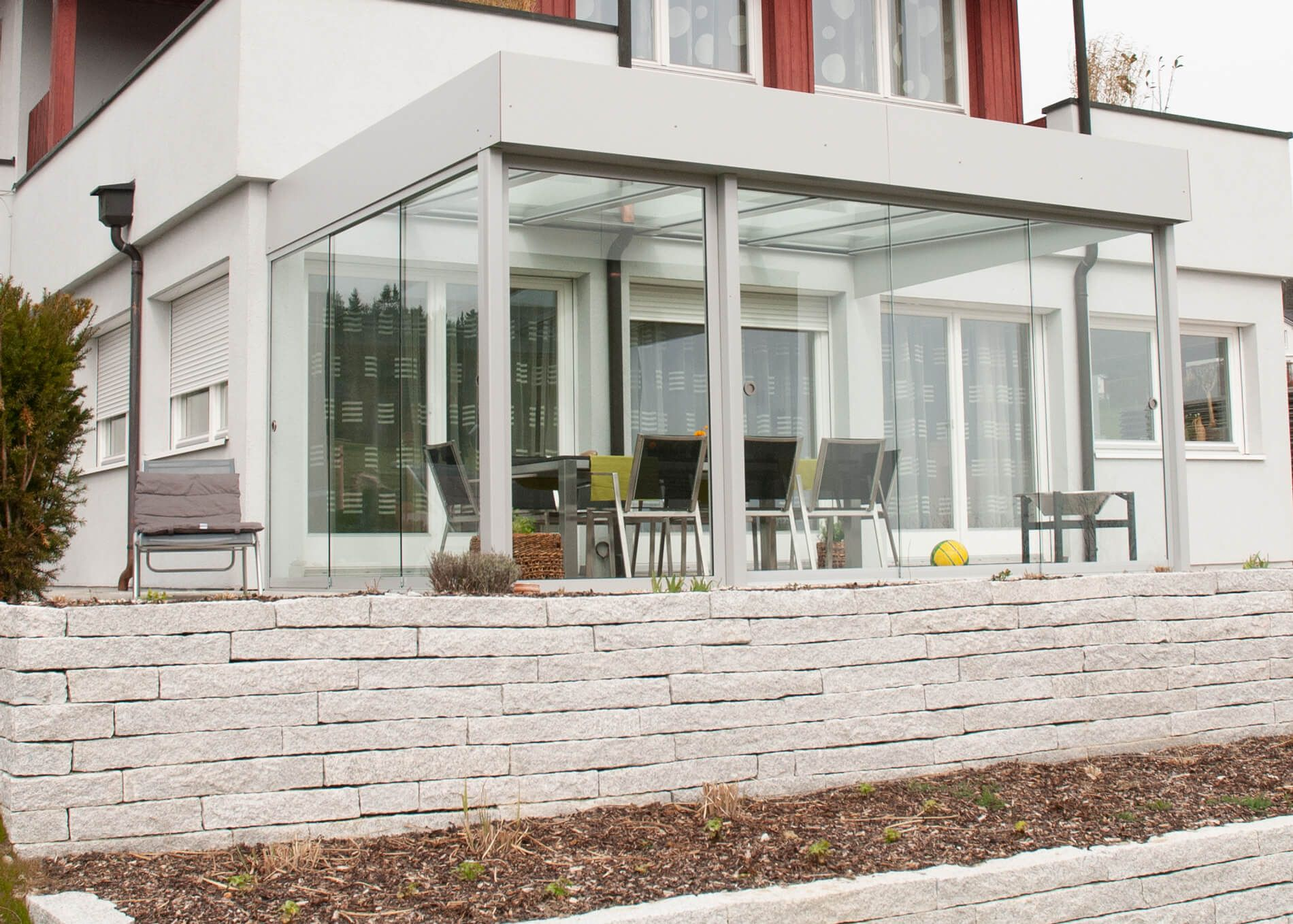 Terrassenüberdachung Alu modern   Gestaltungsideen ...
