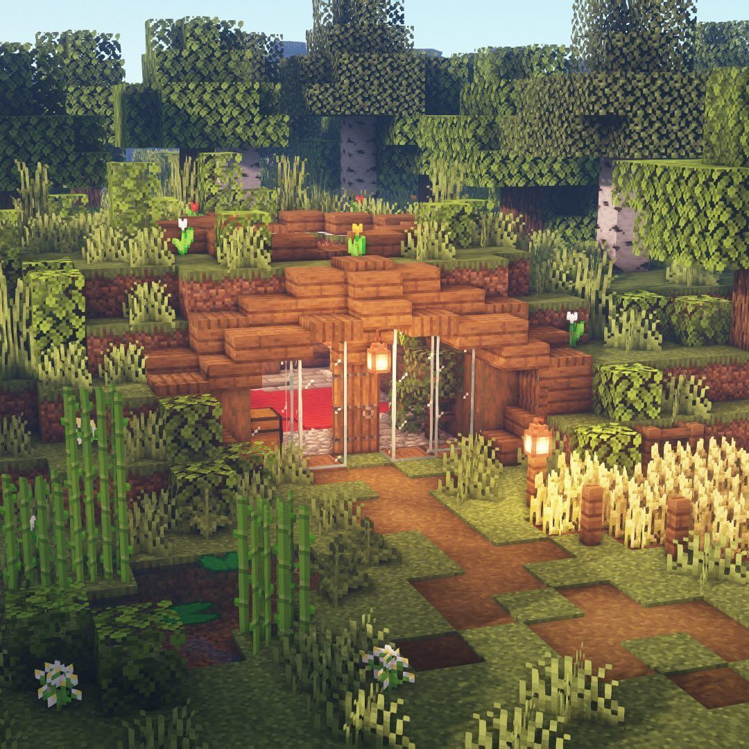 #barn shed landscaping #building #Heres #house #Instagram #landscape #note #raised shed landscaping #save #shed landscaping flower beds #shed landscaping gravel #Side #side of shed landscaping #survival #time #Typface #minecrafthouses