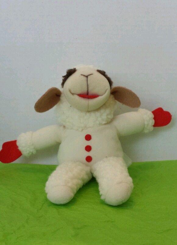 Plush Toy Lamb Chop Plush Sheri Lewis Sheep Stuffed Animal 10 Shelf