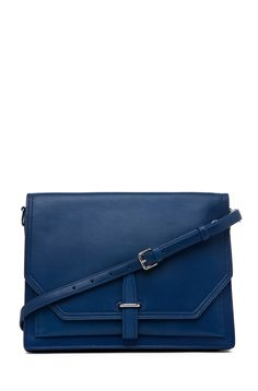 """3.1 Philip Lim Polly Double Compartment Crossbody 10"""" wide; 2"""" deep"""