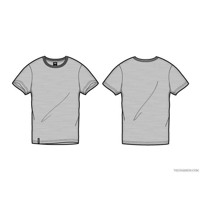 100 T-shirt templates for download that are bloody awesome | Vector ...