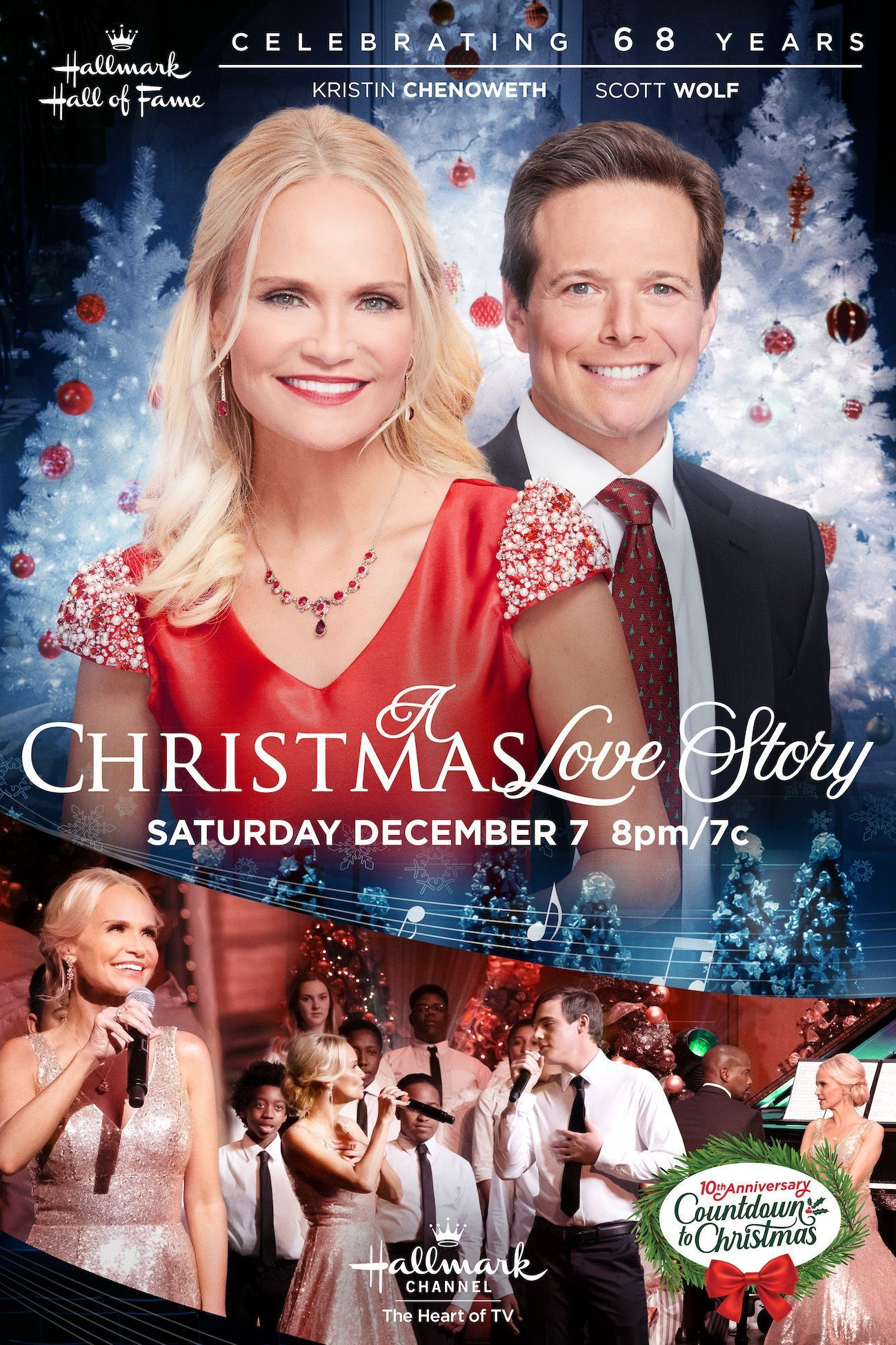 Hallmark Hall Of Fame Returns With A Christmas Love Story Starring Kristin Cheno Hallmark Channel Christmas Movies Hallmark Christmas Movies Hallmark Movies