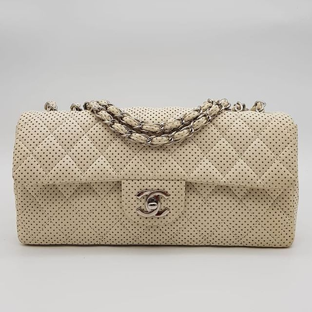 A bargain! 1000 wire. Preloved Chanel Perforated East