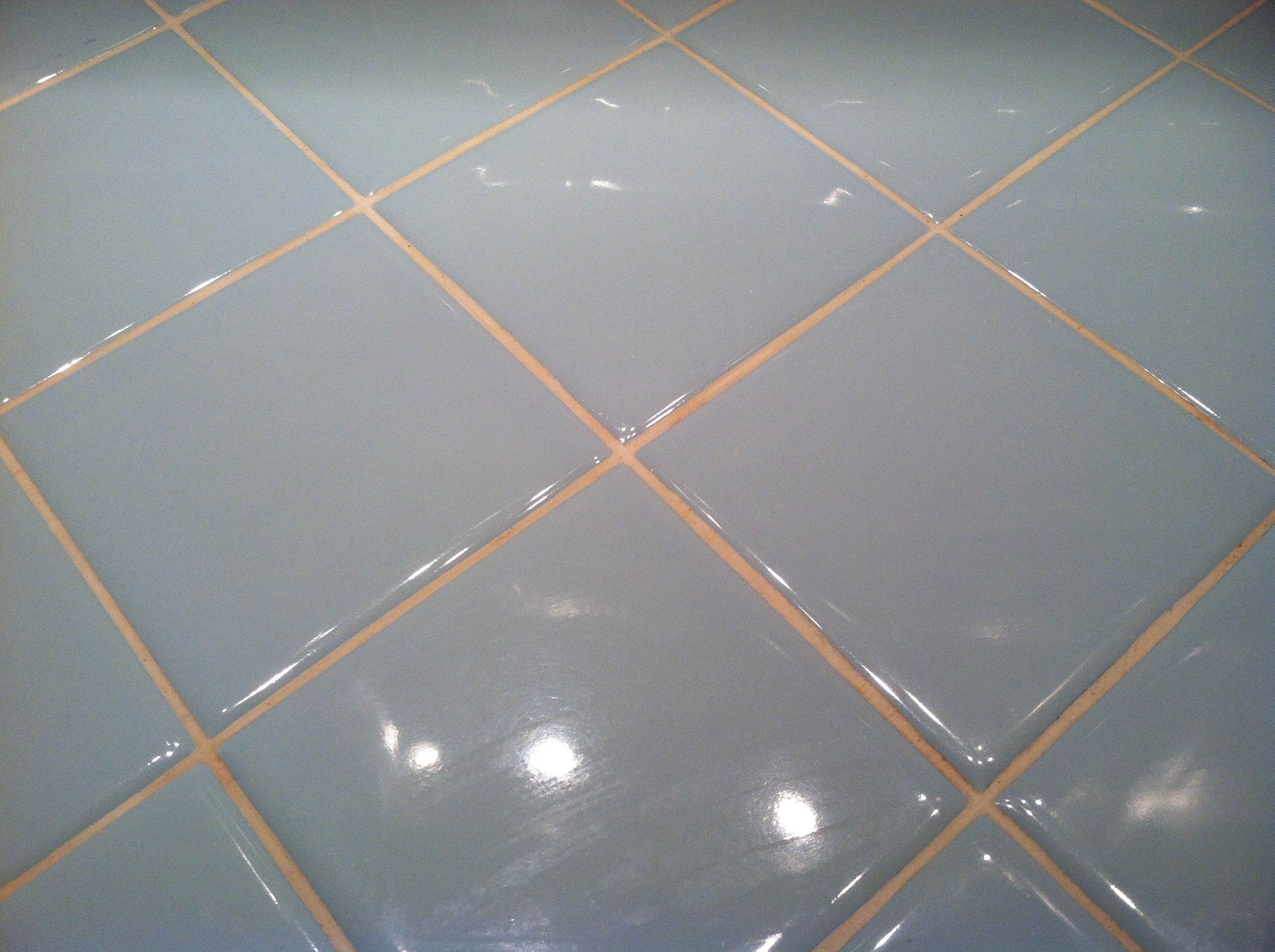 Clean Old Tile With Resolve Carpet Cleaner Did This On My - Best way to clean old tile and grout