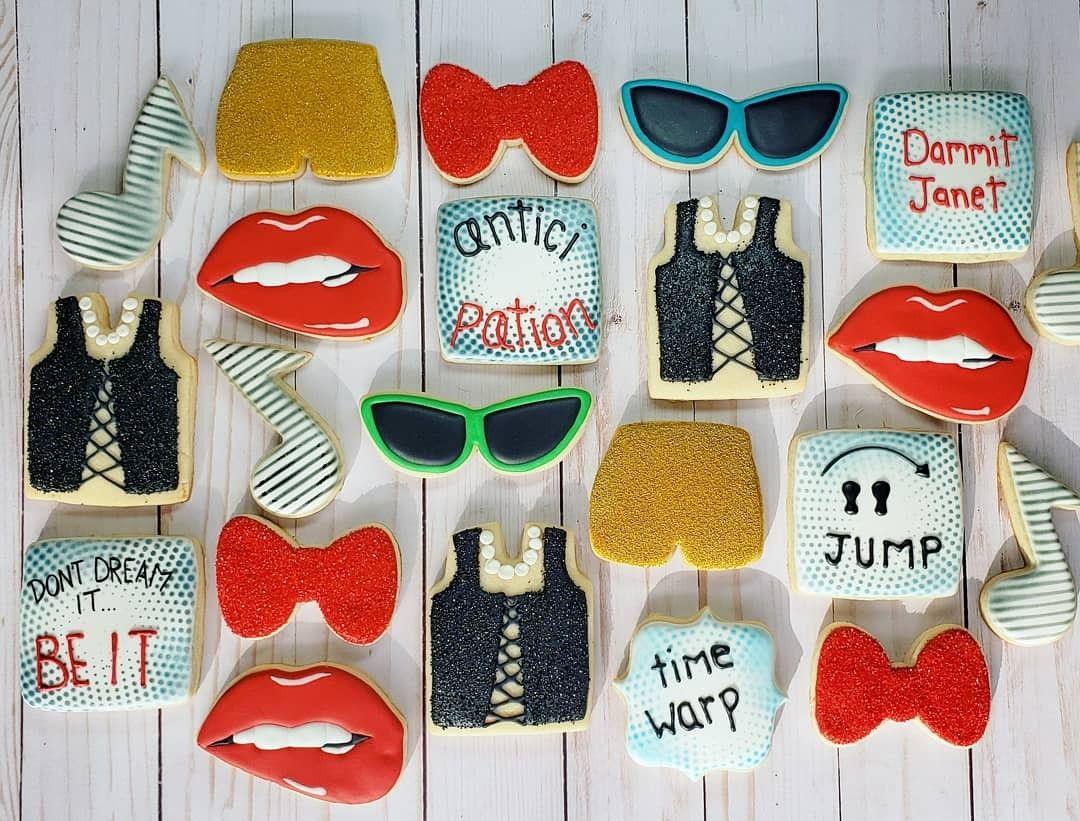 Rocky Horror Sugar Cookies